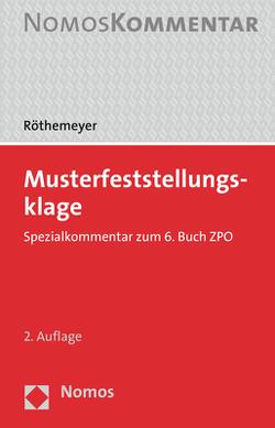 Musterfeststellungsklage von Röthemeyer,  Peter