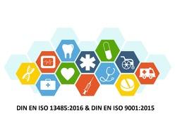 Musterhandbuch Medizinprodukte & – Qualitätsmanagement nach DIN EN ISO 13485:2016 und DIN EN ISO 9001:2015 von Seiler,  Klaus