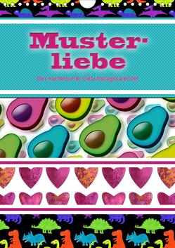 Musterliebe (Wandkalender 2021 DIN A4 hoch) von B-B Müller,  Christine