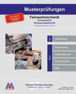 Musterprüfungsordner Zerspanungsmechaniker / Musterprüfungsordner Feinwerkmechanik von Reppin,  Martin, Stollenwerk,  Michael