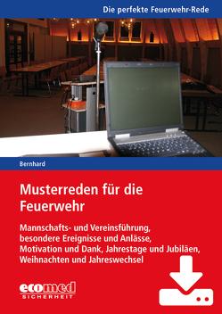 Musterreden für die Feuerwehr (Gesamtwerk) – Download von Bernhard,  Martin