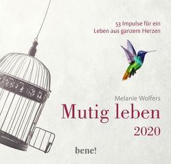 Mutig leben 2020 – Aufstellkalender von Wolfers,  Melanie