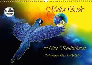 Mutter Erde und ihre Kostbarkeiten. Mit indianischen Weisheiten (Wandkalender 2018 DIN A3 quer) von Djeric,  Dusanka