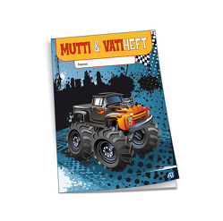 Mutti & Vatiheft Monster-Truck
