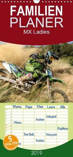 MX Ladies – Motocross – Familienplaner hoch (Wandkalender 2019 , 21 cm x 45 cm, hoch) von Fitkau Fotografie & Design,  Arne