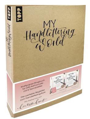 My Handlettering World Ringbuch DIN A4 von frechverlag