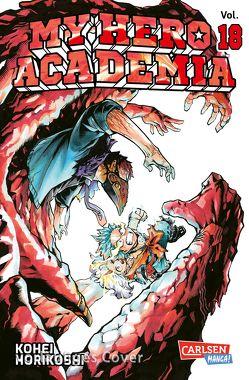My Hero Academia 18 von Bockel,  Antje, Horikoshi,  Kohei