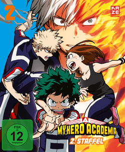 My Hero Academia – 2. Staffel – Blu-ray 2 von Nagasaki,  Kenji