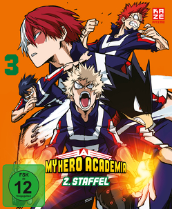 My Hero Academia – 2. Staffel – DVD 3 von Nagasaki,  Kenji