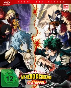 My Hero Academia – 3. Staffel – Blu-ray 1 mit Sammelschuber (Limited Edition) von Nagasaki,  Kenji