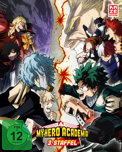 My Hero Academia – 3. Staffel – DVD 1 mit Sammelschuber (Limited Edition) von Nagasaki,  Kenji