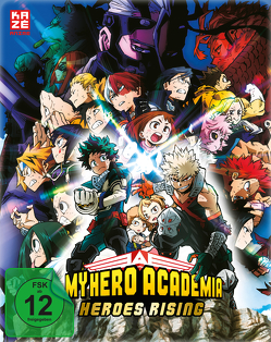 My Hero Academia – The Movie: Heroes Rising – Steelbook Blu-ray [Limited Edition] von Nagasaki,  Kenji