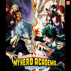 My Hero Academia – Wandkalender 2020 von Horikoshi,  Kohei