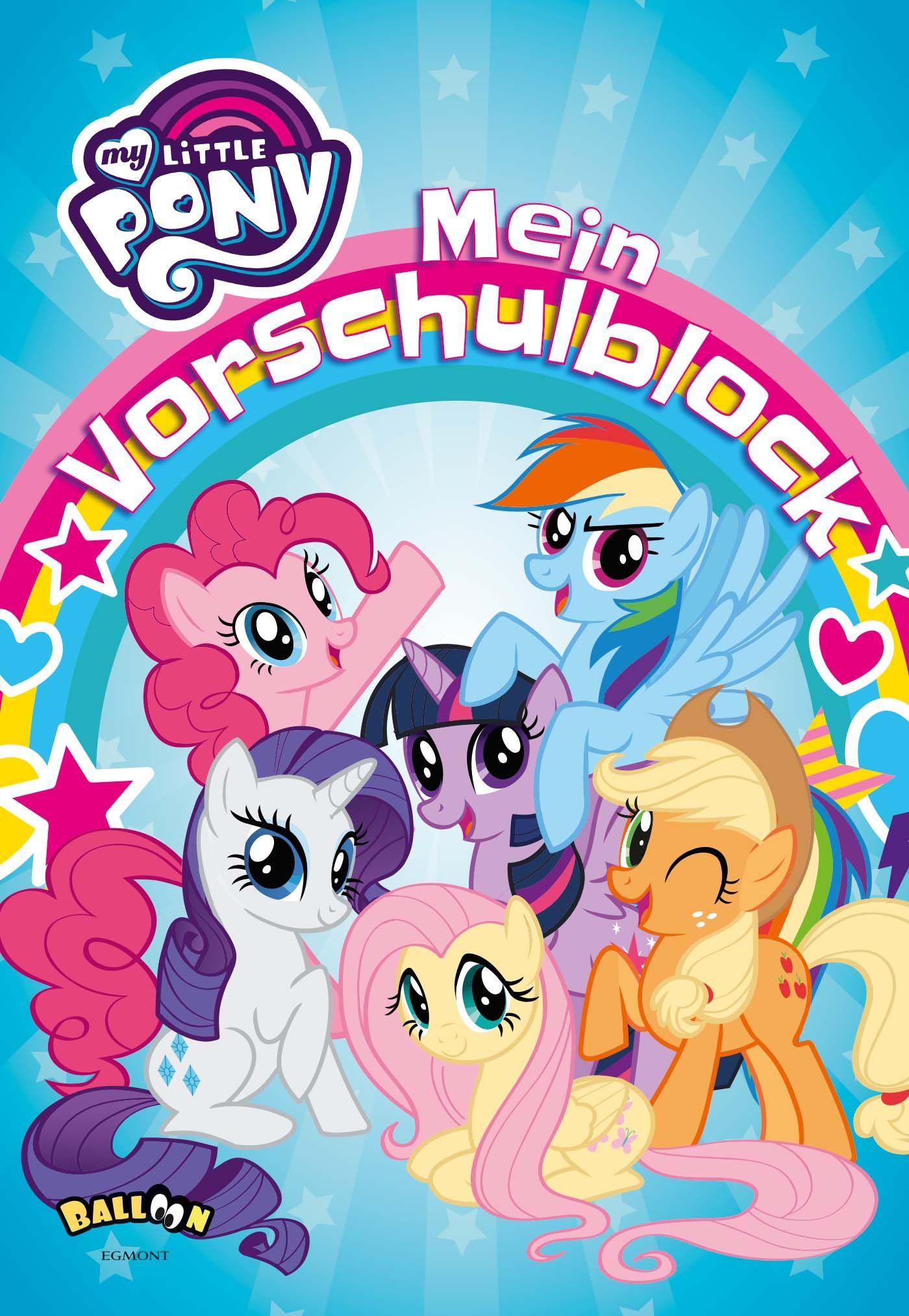 My Little Pony - Mein Vorschulblock von Hasbro: