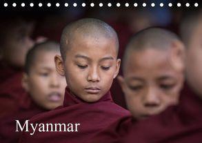 Myanmar 2019 (Tischkalender 2019 DIN A5 quer) von Rusch,  Winfried