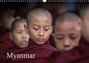 Myanmar 2019 (Wandkalender 2019 DIN A3 quer) von Rusch,  Winfried