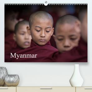 Myanmar 2020 (Premium, hochwertiger DIN A2 Wandkalender 2020, Kunstdruck in Hochglanz) von Rusch,  Winfried