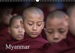 Myanmar 2021 (Wandkalender 2021 DIN A3 quer) von Rusch,  Winfried