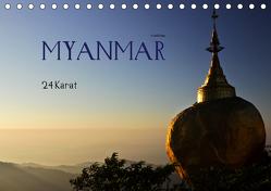 Myanmar – 24 Karat (Tischkalender 2020 DIN A5 quer) von boeTtchEr,  U