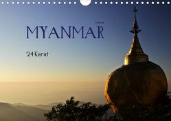 Myanmar – 24 Karat (Wandkalender 2020 DIN A4 quer) von boeTtchEr,  U