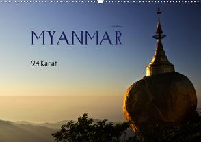 Myanmar – 24 Karat (Wandkalender 2021 DIN A2 quer) von boeTtchEr,  U