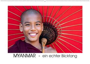 Myanmar – ein echter BlickfangAT-Version (Wandkalender 2020 DIN A2 quer) von Steiner,  Gabi