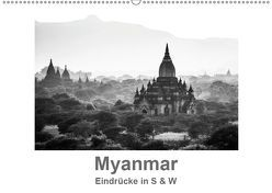 Myanmar – Eindrücke in S & W (Wandkalender 2019 DIN A2 quer) von Knappmann,  Britta