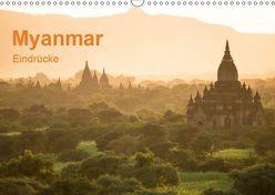 Myanmar – Eindrücke (Wandkalender 2019 DIN A3 quer) von Knappmann,  Britta