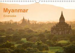 Myanmar – Eindrücke (Wandkalender 2019 DIN A4 quer) von Knappmann,  Britta