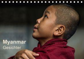 Myanmar – Gesichter (Tischkalender 2018 DIN A5 quer) von Knappmann,  Britta