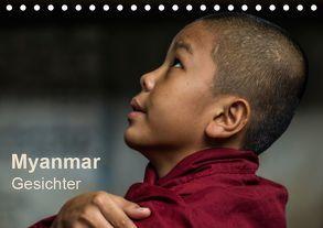 Myanmar – Gesichter (Tischkalender 2019 DIN A5 quer) von Knappmann,  Britta