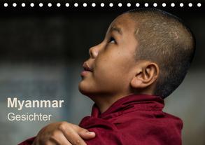 Myanmar – Gesichter (Tischkalender 2020 DIN A5 quer) von Knappmann,  Britta