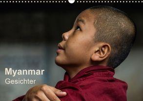 Myanmar – Gesichter (Wandkalender 2018 DIN A3 quer) von Knappmann,  Britta