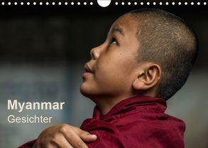 Myanmar – Gesichter (Wandkalender 2019 DIN A4 quer) von Knappmann,  Britta