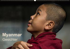 Myanmar – Gesichter (Wandkalender 2020 DIN A2 quer) von Knappmann,  Britta