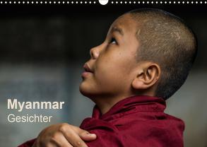 Myanmar – Gesichter (Wandkalender 2020 DIN A3 quer) von Knappmann,  Britta