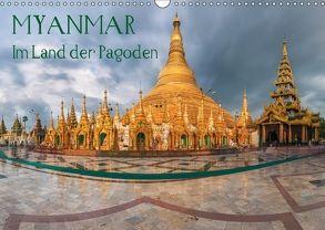 Myanmar – Im Land der Pagoden (Wandkalender 2018 DIN A3 quer) von Claude Castor I 030mm-photography,  Jean