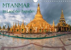 Myanmar – Im Land der Pagoden (Wandkalender 2019 DIN A4 quer) von Claude Castor I 030mm-photography,  Jean