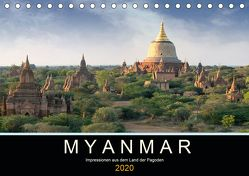 Myanmar – Impressionen aus dem Land der Pagoden (Tischkalender 2020 DIN A5 quer) von Gärtner,  Oliver