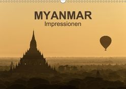 Myanmar – Impressionen (Wandkalender 2018 DIN A3 quer) von Krebs,  Thomas