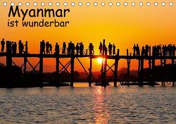 Myanmar ist wunderbar / CH-Version (Tischkalender 2021 DIN A5 quer) von Eppele,  Klaus