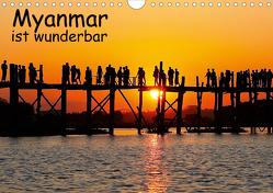 Myanmar ist wunderbar (Wandkalender 2020 DIN A4 quer) von Eppele,  Klaus