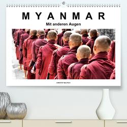 Myanmar – Mit anderen Augen (Premium, hochwertiger DIN A2 Wandkalender 2021, Kunstdruck in Hochglanz) von / Christof Bautsch,  Krzys