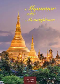 Myanmar Monatsplaner 2020 30x42cm