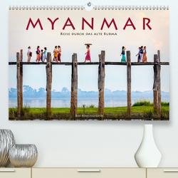 Myanmar – Reise durch das alte Burma (Premium, hochwertiger DIN A2 Wandkalender 2021, Kunstdruck in Hochglanz) von Benninghofen,  Jens