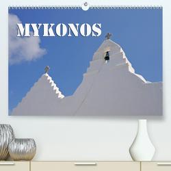 MYKONOS – Insel des Jetset (Premium, hochwertiger DIN A2 Wandkalender 2021, Kunstdruck in Hochglanz) von Blume,  Hubertus