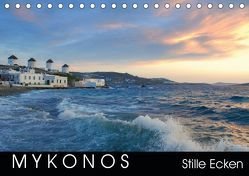 Mykonos – Stille Ecken (Tischkalender 2019 DIN A5 quer)