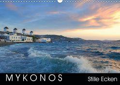 Mykonos – Stille Ecken (Wandkalender 2019 DIN A3 quer)