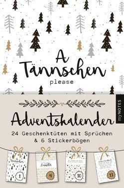 myNOTES A Tännschen please