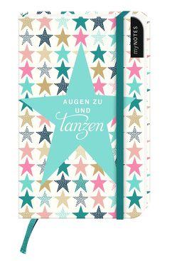 myNOTES: Augen zu und tanzen / Notizbuch klein / Blanko